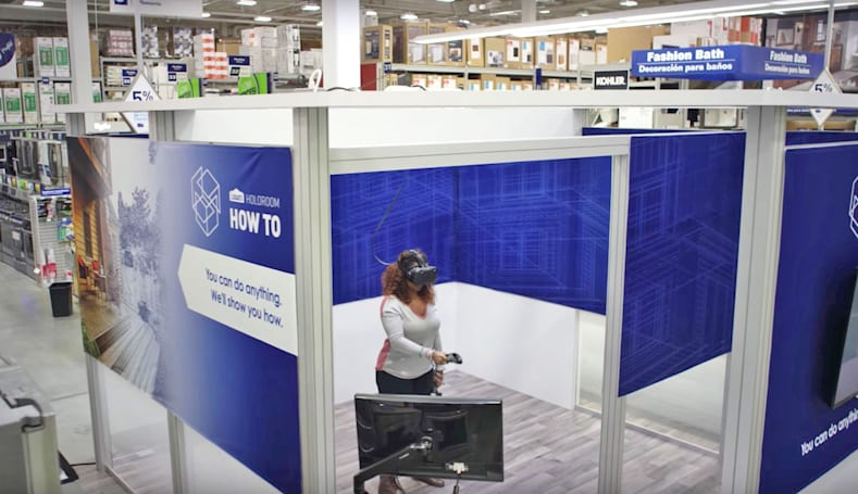 Lowe's is using AR and VR to make how-to easier
