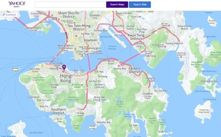 Yahoo 宣布关掉 Yahoo Maps 和停止支持较旧版 iOS 的 Mail