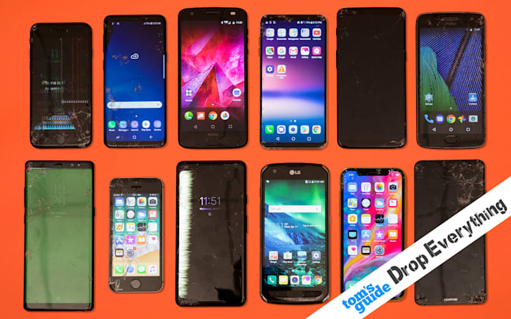 After dropping $18,000 worth of phones, these are the toughest