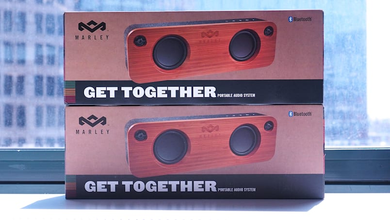 Engadget giveaway: Win a Get Together speaker from House of Marley!
