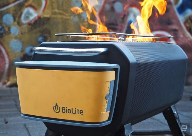 BioLite's FirePit goes beyond the camping grill