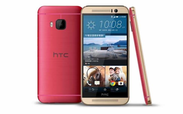 有點小粉紅的鋼鐵人(咦?),桃紅金新色 HTC One M9 在台登場!