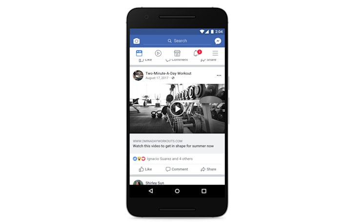 Facebook demotes video clickbait posts to improve your feeds