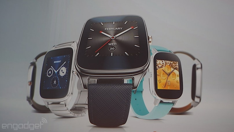 ASUS' ZenWatch 2 is dirt cheap and arrives next month