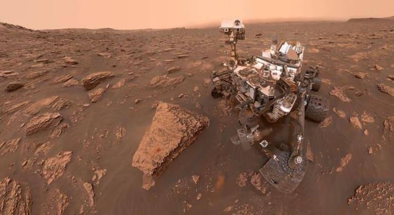 沙尘暴现已覆盖整个火星地表