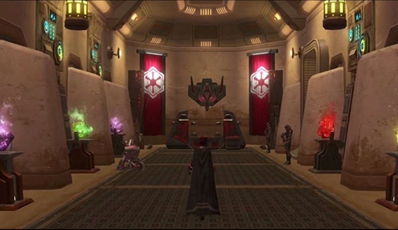 Take a video tour of SWTOR's Tatooine homestead