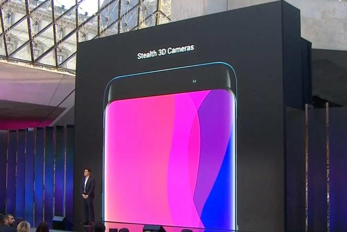 Oppo Find X 也把相机藏在了中框里面