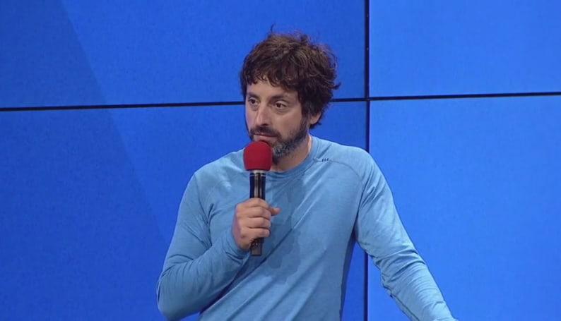 听 Sergey Brin 谈自驾车意外
