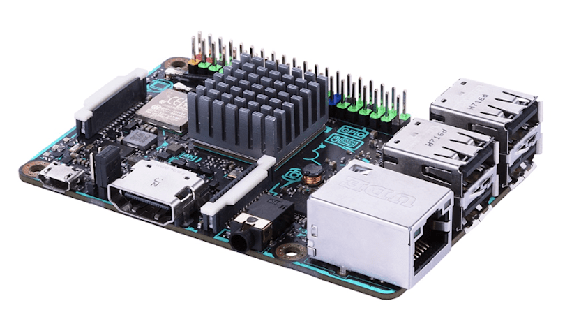 ASUS' Tinker Board S is a powerful platform for DIY types