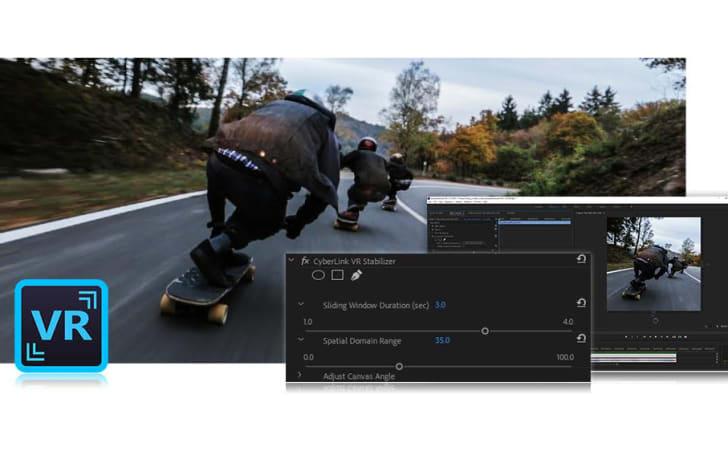 CyberLink 将自家 VR 视频稳定技术带到 Adobe 软件之中