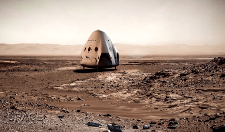 Elon Musk implies SpaceX won't land Dragon capsules on Mars