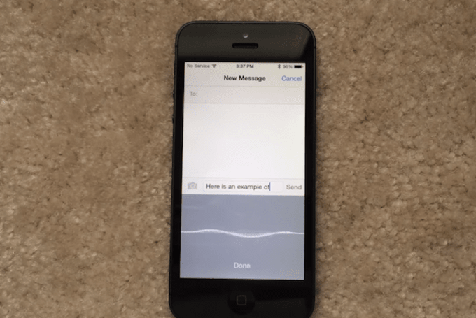 iOS 8 real time voice-to-text feature looks incredible