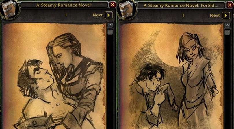 Steamy Romance Novels: Now with illustrations