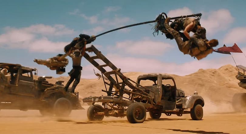 Every ridiculous vehicle in 'Mad Max: Fury Road' is drivable