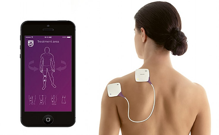 Philips aims to relieve persistent pain with smartphone-controlled devices