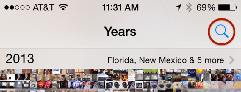 iOS 8 Photos app: Smart suggestions and searching