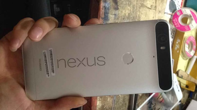 Huawei Nexus leak reveals a weird camera hump