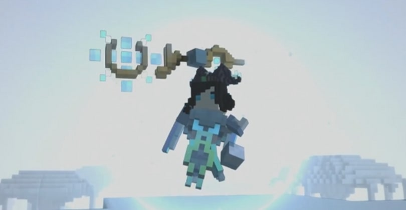 Trove unveils a trailer for the Ice Sage class