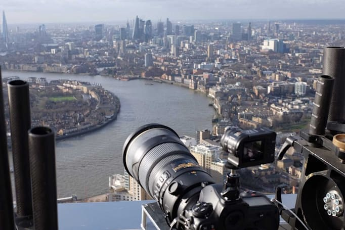 透过 Gigapixel 照片尽览伦敦一日风貌