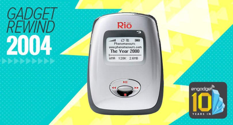 Gadget Rewind 2004: Rio Carbon