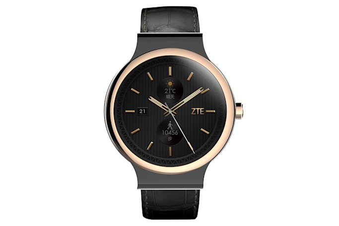ZTE's latest smartwatch packs style and gesture control