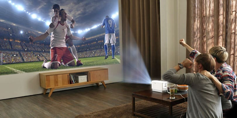 LG's Full HD laser projector is bright enough for daytime use