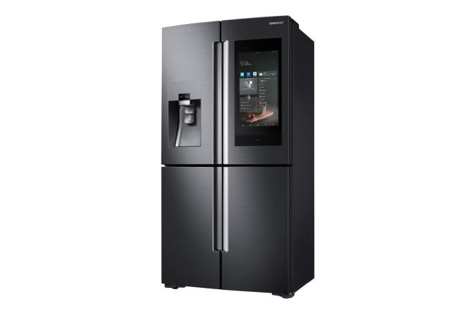三星 Bixby 理所当然地登上了自家新款智能冰箱