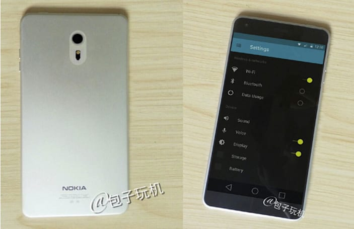 Nokia's first Android phone reportedly breaks cover