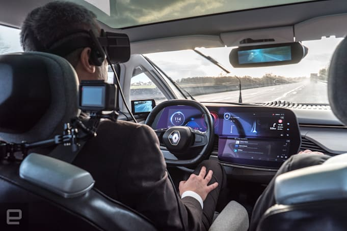 Renault-Nissan and Didi plan self-driving ride service in China
