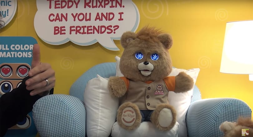 Teddy Ruxpin returns with animated LCD eyes