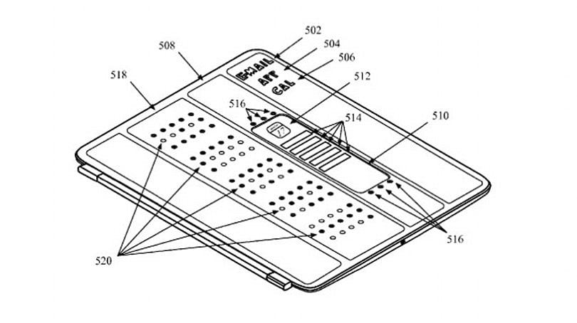 Apple patents Smart Cover with built-in display