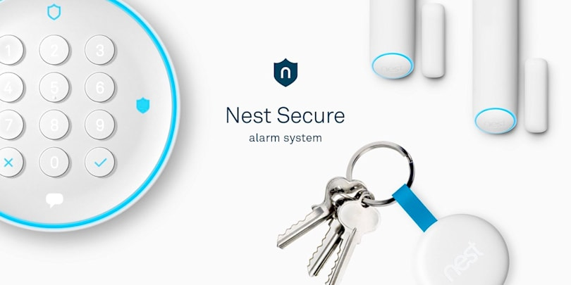 Nest takes on home defense with its Secure alarm system