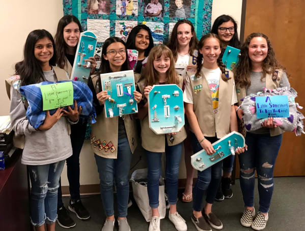 Girl Scouts add badges for cybersecurity and the environment