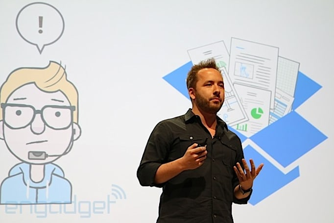 Dropbox makes it easy for workmates to edit Office files