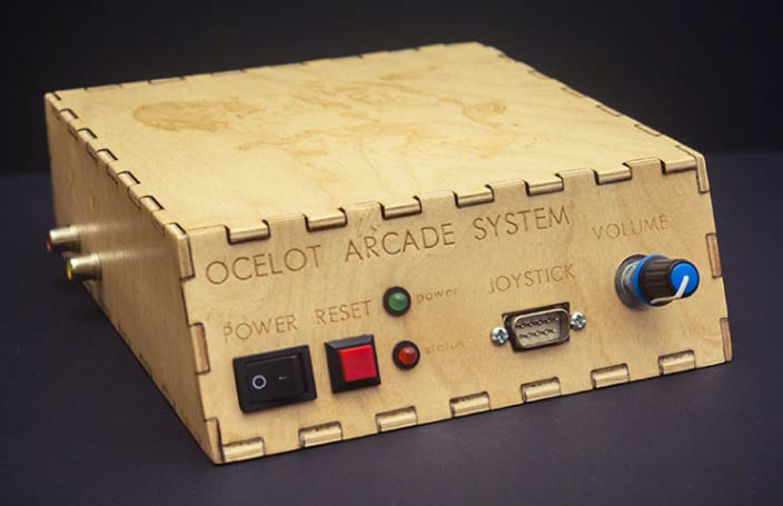 Custom oscilloscope console pays tribute to 'Star Fox' and 'Asteroids'