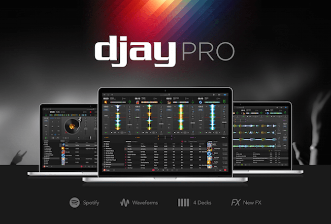 Algoriddim releases djay Pro for the Mac with Spotify Integration
