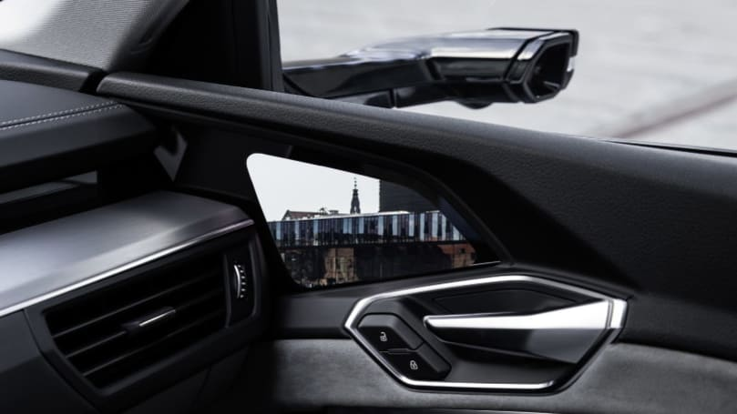 New videos show how Audi E-Tron's new virtual side mirrors work