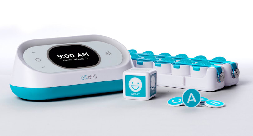 PillDrill does smart medication tracking in style