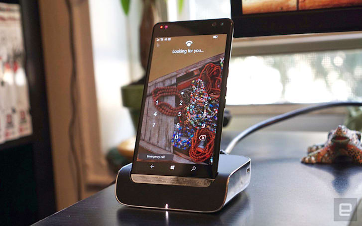 HP's Elite X3 gets closer to the dream of a Windows Phone as a PC