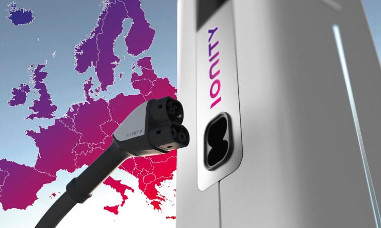 Major car companies partner for Europe-wide EV charging network