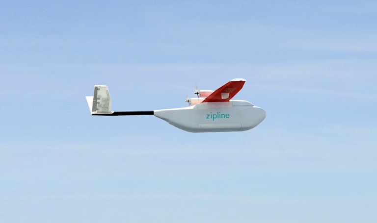 Drones are delivering blood to hospitals in Rwanda