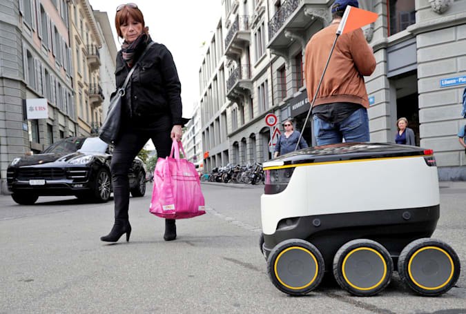 San Francisco restricts the use of delivery robots on its sidewalks