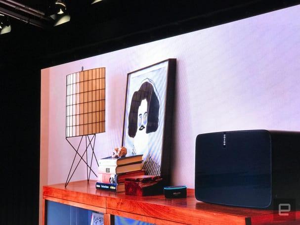 Alexa voice control comes to Sonos speakers in public beta
