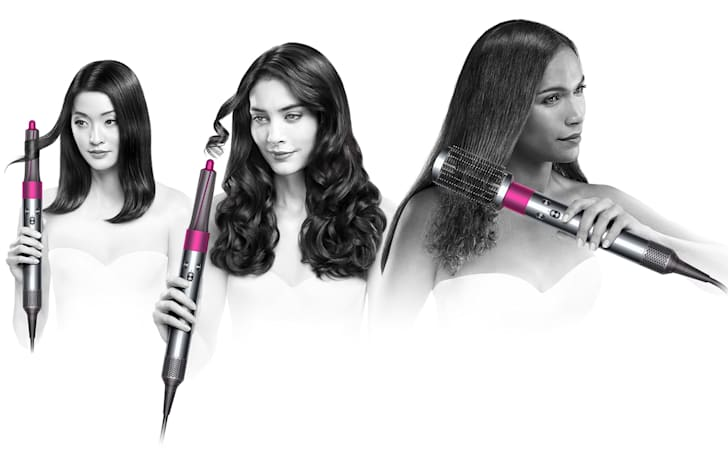 Dyson Airwrap can curl or straighten your hair using less heat