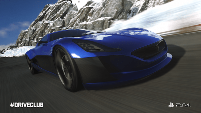 'Driveclub' lets you race Rimac's ultra-rare electric hypercar