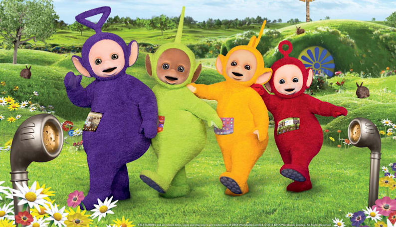 'Teletubbies' to return with tablet tummies