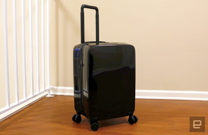 Raden's connected carry-on is sleek and smart, but cramped