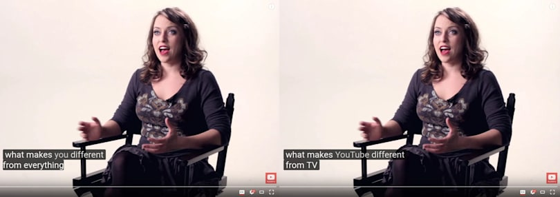 YouTube now has over one billion auto-captioned videos