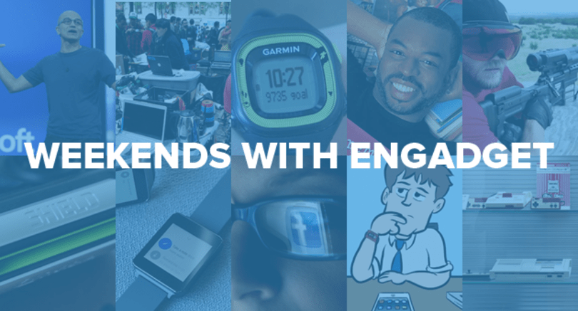 Weekends with Engadget: Android Wear review, ditching social media and more!