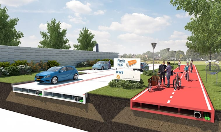 Plastic roads may put asphalt to shame